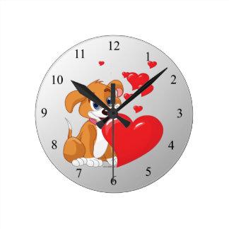 子供の時計 ラウンド壁時計