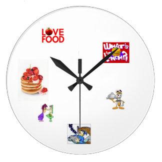 子供の時計、 ラージ壁時計