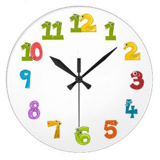 子供の時計 ラージ壁時計