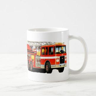子供の普通消防車 コーヒーマグカップ