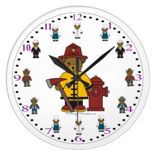 子供の柱時計 ラージ壁時計