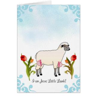 子供の洗礼カード カード