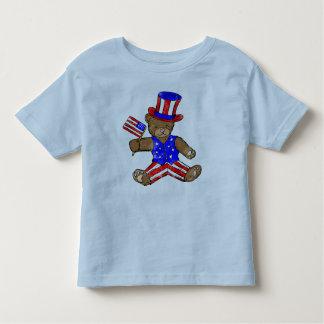 子供の独立記念日のTシャツ トドラーTシャツ
