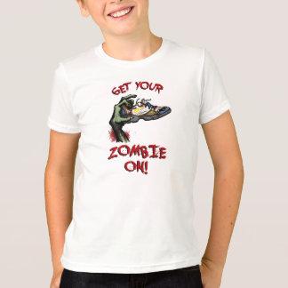 子供の白いTシャツ Tシャツ