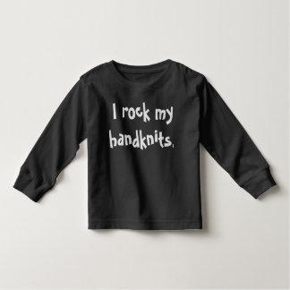 子供の編み物のティー トドラーTシャツ