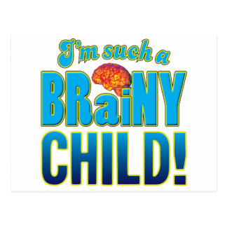 子供の聡明な頭脳 ポストカード