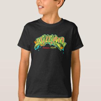 子供の落書き: ウィリアムStreetwear Tシャツ