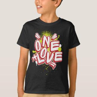 子供の落書き: 1つの愛Streetwear Tシャツ