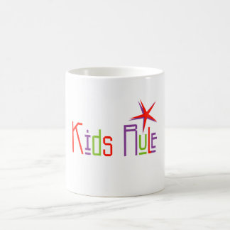 子供の規則のマグ コーヒーマグカップ