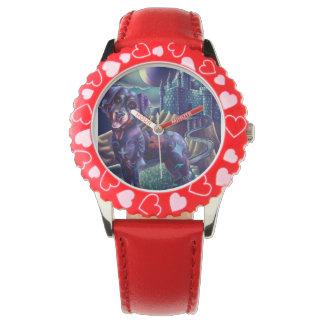 子供の調節可能でカスタムな腕時計Roxyロットワイラー 腕時計