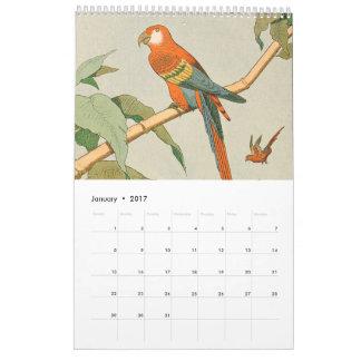 子供の農場およびジャングルの動物の写真 カレンダー