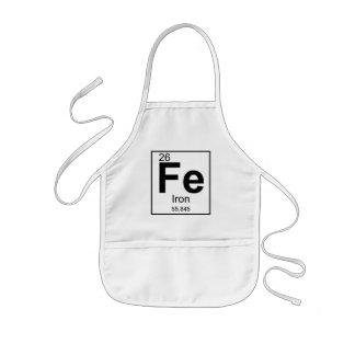 子供の鉄のシェフFe [26]エプロン 子供用エプロン