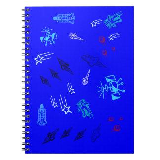 子供の青い宇宙 ノートブック