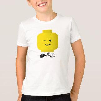 """子供の黄色いヘッドはTシャツを""""避けます"""" Tシャツ"""