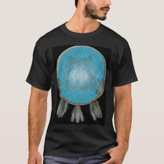 子供の黒いオオカミのDreamcatcherのワイシャツ Tシャツ