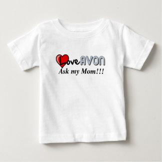 子供のAVONのワイシャツ ベビーTシャツ