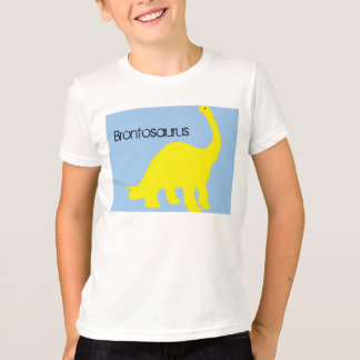 子供のBrontosaurusのTシャツ Tシャツ