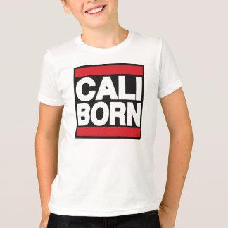 子供のCaliの生まれるTシャツ Tシャツ