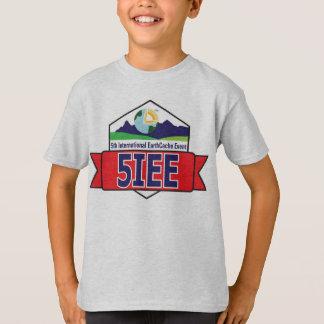 子供のEarthCache 5IEEのTシャツ Tシャツ
