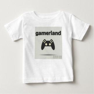 子供のGamerslandのTシャツ ベビーTシャツ