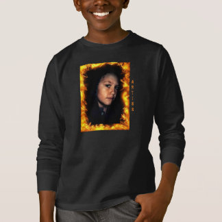 子供のHanes Tagless ComfortSoft®の長袖T Tシャツ