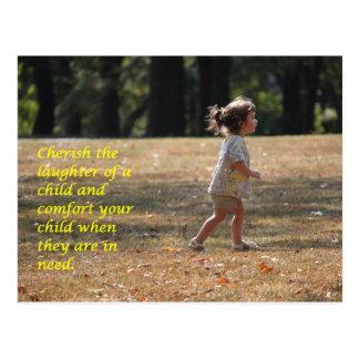 子供のIMG_2373笑い声 ポストカード