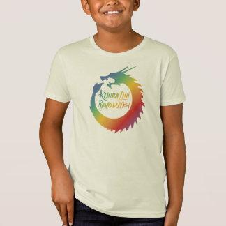 子供のKundaliniのドラゴンの虹の改革のティー Tシャツ