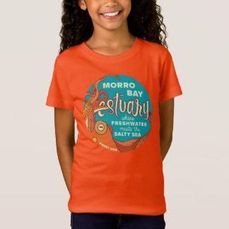 子供のMorro湾のタコのワイシャツ Tシャツ