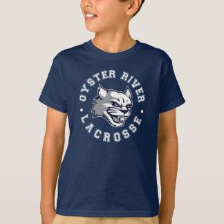 子供のORYAのラクロス海軍Tシャツ Tシャツ
