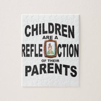子供のrefectionのピエロ ジグソーパズル