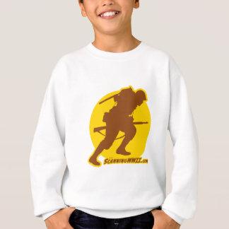 子供のScanningWWII.comのロゴの服装 スウェットシャツ