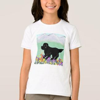 子供のShirt~ニューファウンドランドの子犬 Tシャツ