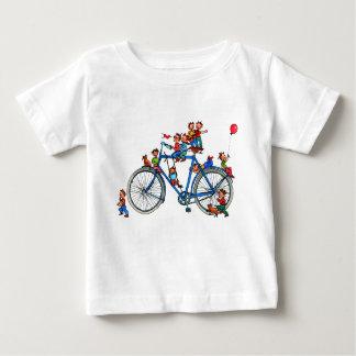 子供のTシャツが付いているバイク ベビーTシャツ