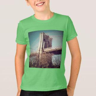 子供のTシャツのブルックリンのベビー! NYの版 Tシャツ