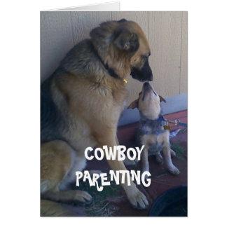 子供はあなたの助け-カウボーイのParentingと育ちます カード