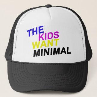 子供はミニマルな帽子がほしいと思います キャップ