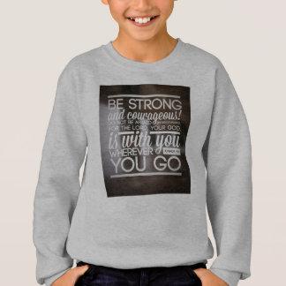 子供は強い場合もあります! スウェットシャツ