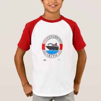 """子供は""""唯一の方法Cunard""""のTシャツです Tシャツ"""