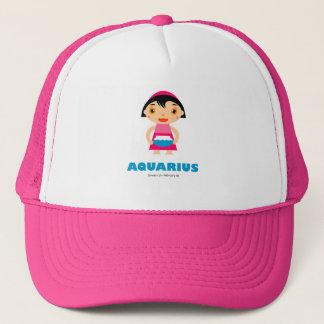 子供へアクエリアスの(占星術の)十二宮図の帽子 キャップ
