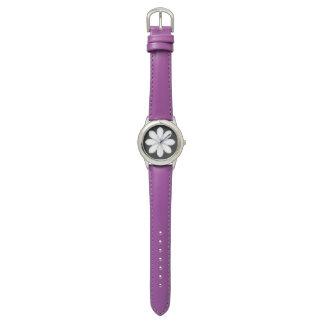 子供へエレガントな紫色色の腕時計 腕時計