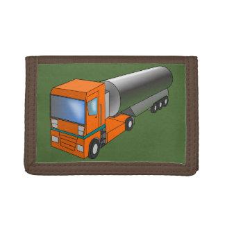 子供へガスのタンク車の重い運送者