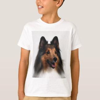 子供へシェットランド・シープドッグのTシャツ Tシャツ