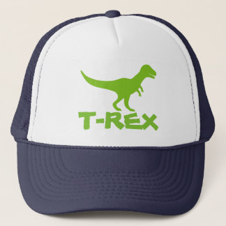 子供へティラノサウルス・レックスTのレックスの恐竜のトラック運転手の帽子 キャップ