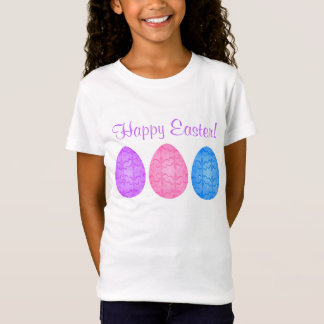 子供へファンシーなイースターエッグ Tシャツ