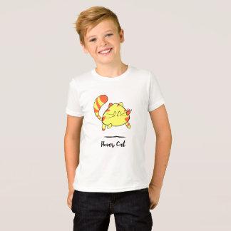 子供へ彷徨い猫のおもしろいの漫画猫のワイシャツ Tシャツ