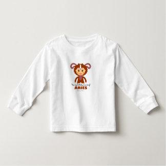 子供へ牡羊座の(占星術の)十二宮図 トドラーTシャツ