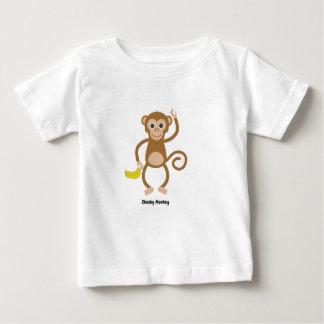 子供へ生意気な猿のTシャツ ベビーTシャツ