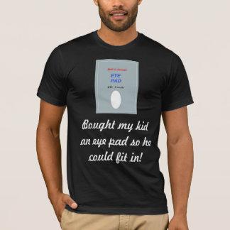 子供へ目のパッド Tシャツ