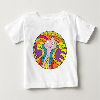子供へ目の錯覚II ベビーTシャツ