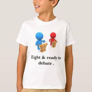 子供へ第8誕生日のTシャツ Tシャツ